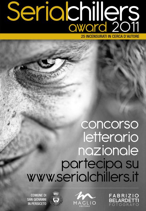 Locandina concorso letterario Serial Chillers