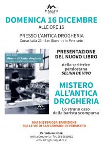 A4 volantino MISTERO ANTICA DROGHERIA 16 dicembre 18-001